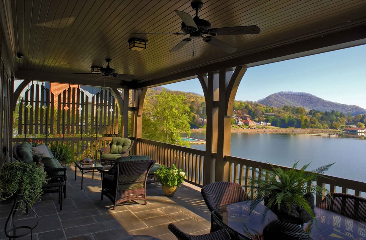 Lake Junaluska Residence North Carolina Samsel Architects
