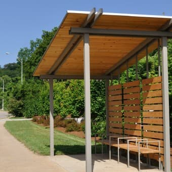"Clingman ""Green"" Bus Shelter"