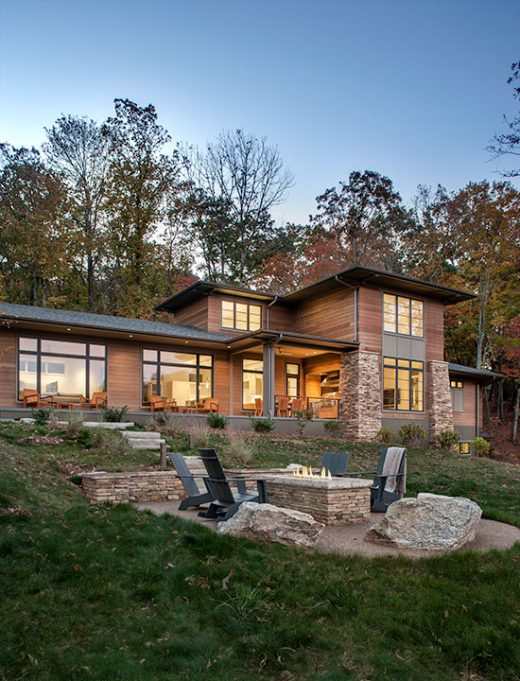 The Cliffs At Walnut Cove Residence Samsel Architects