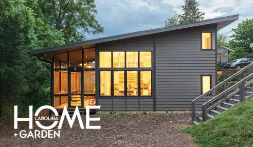 We Are Excited To See Our West Asheville Small House Featured In The Spring  Edition Of Carolina Home + Garden Magazine. This Home Is On A ⅛ Acre Infill  Lot ...