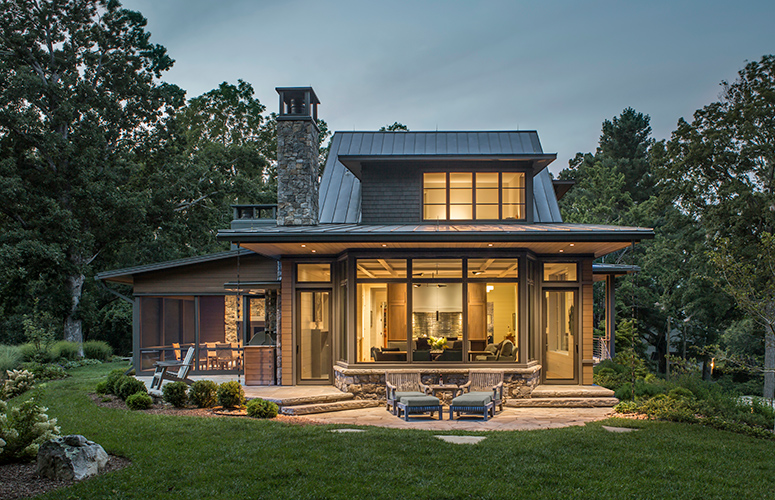 Twin Oaks North Asheville Residence Exterior