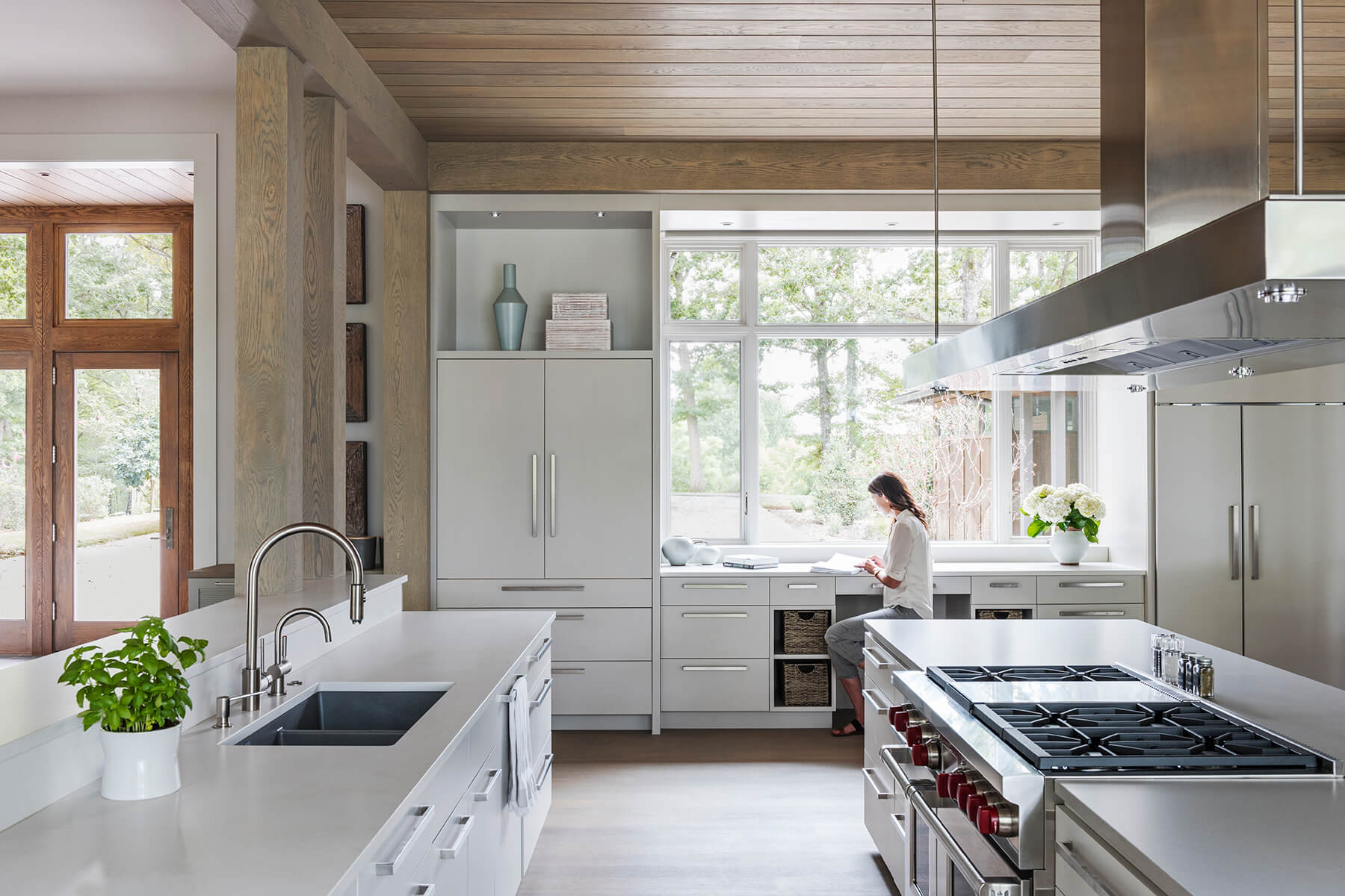 Mill Spring Modern Farmhouse Kitchen Window