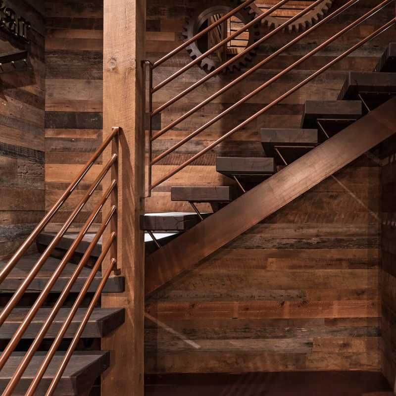 East Tennessee Stair Detail