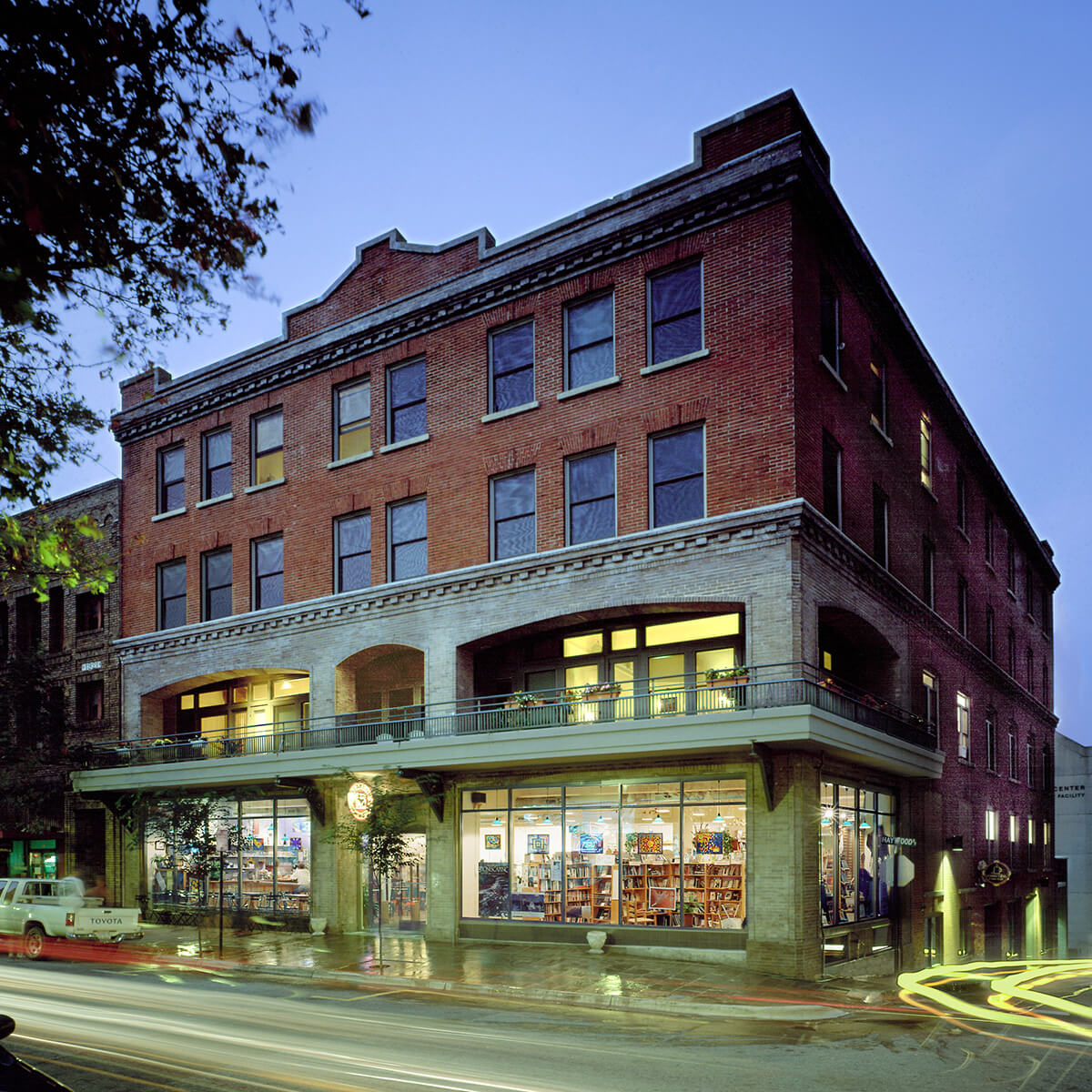 Asheville Hotel construction and architectural design