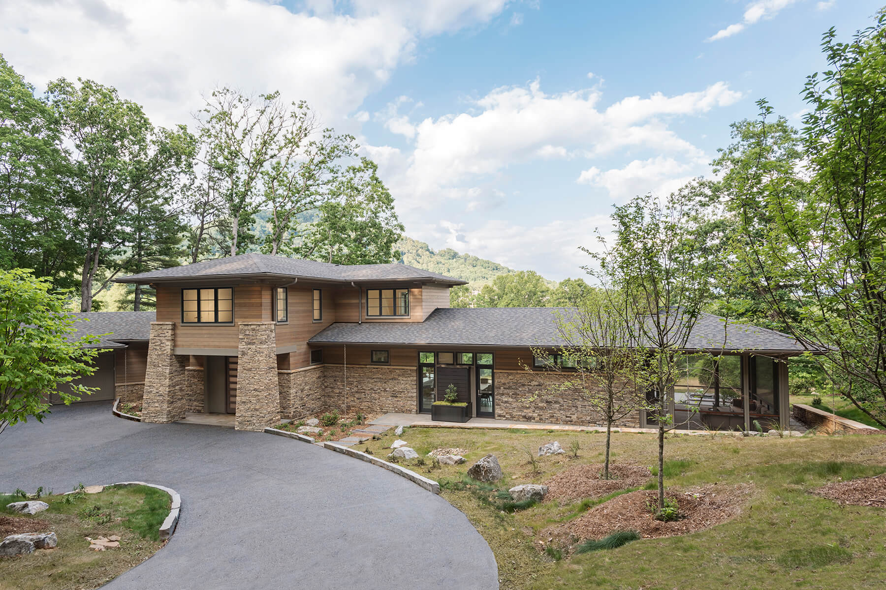 The Cliffs Walnut Cove high end home architectural design project
