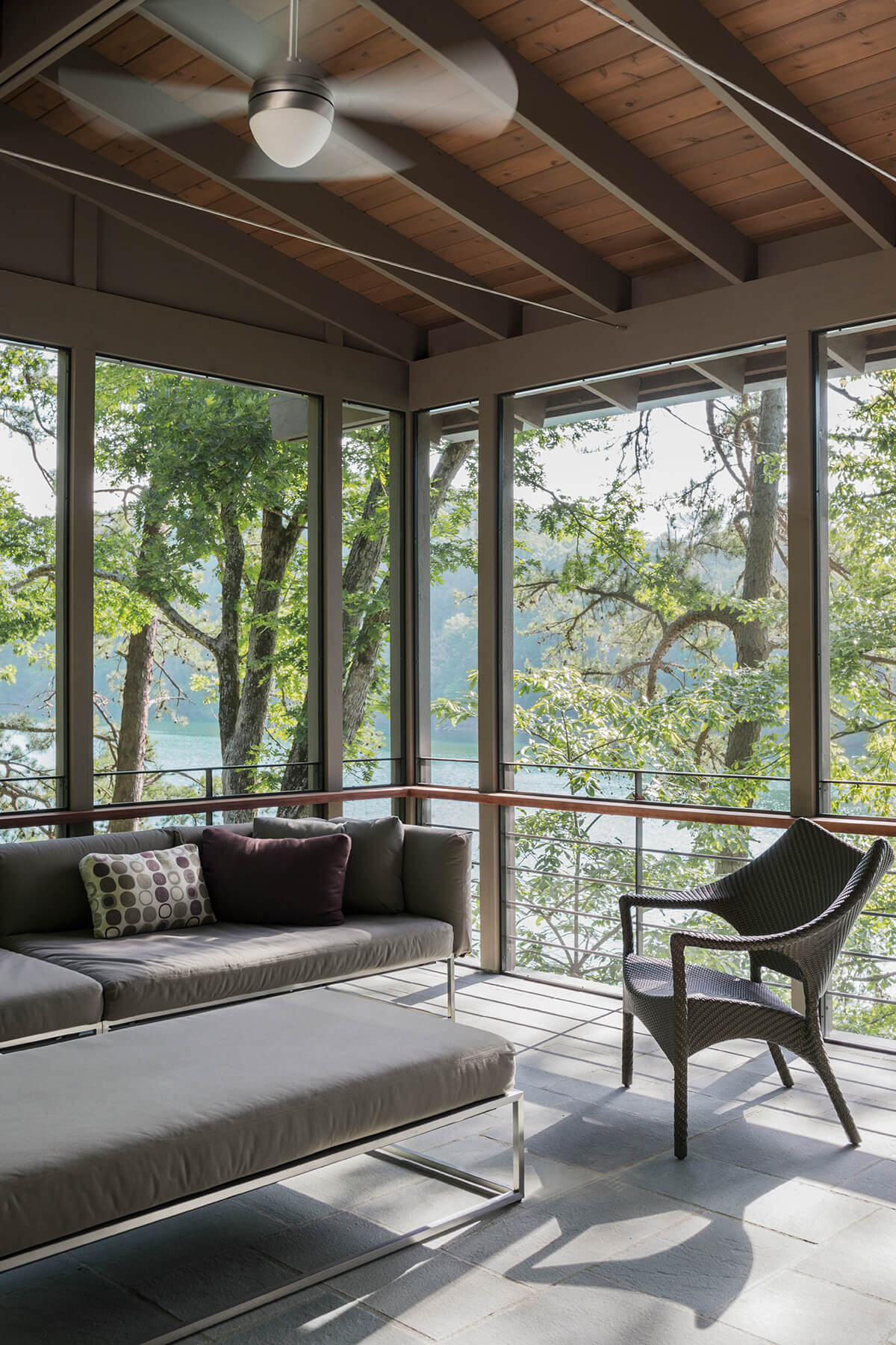 Fontana Lake House modern architectural residential design project