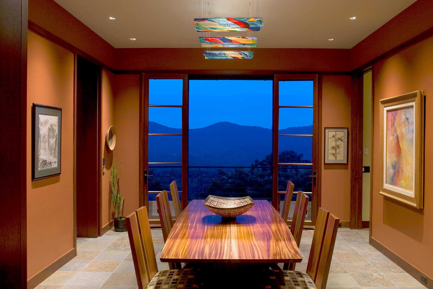 The North Mountain Wine Room commercial renovation project by Samsel Architects