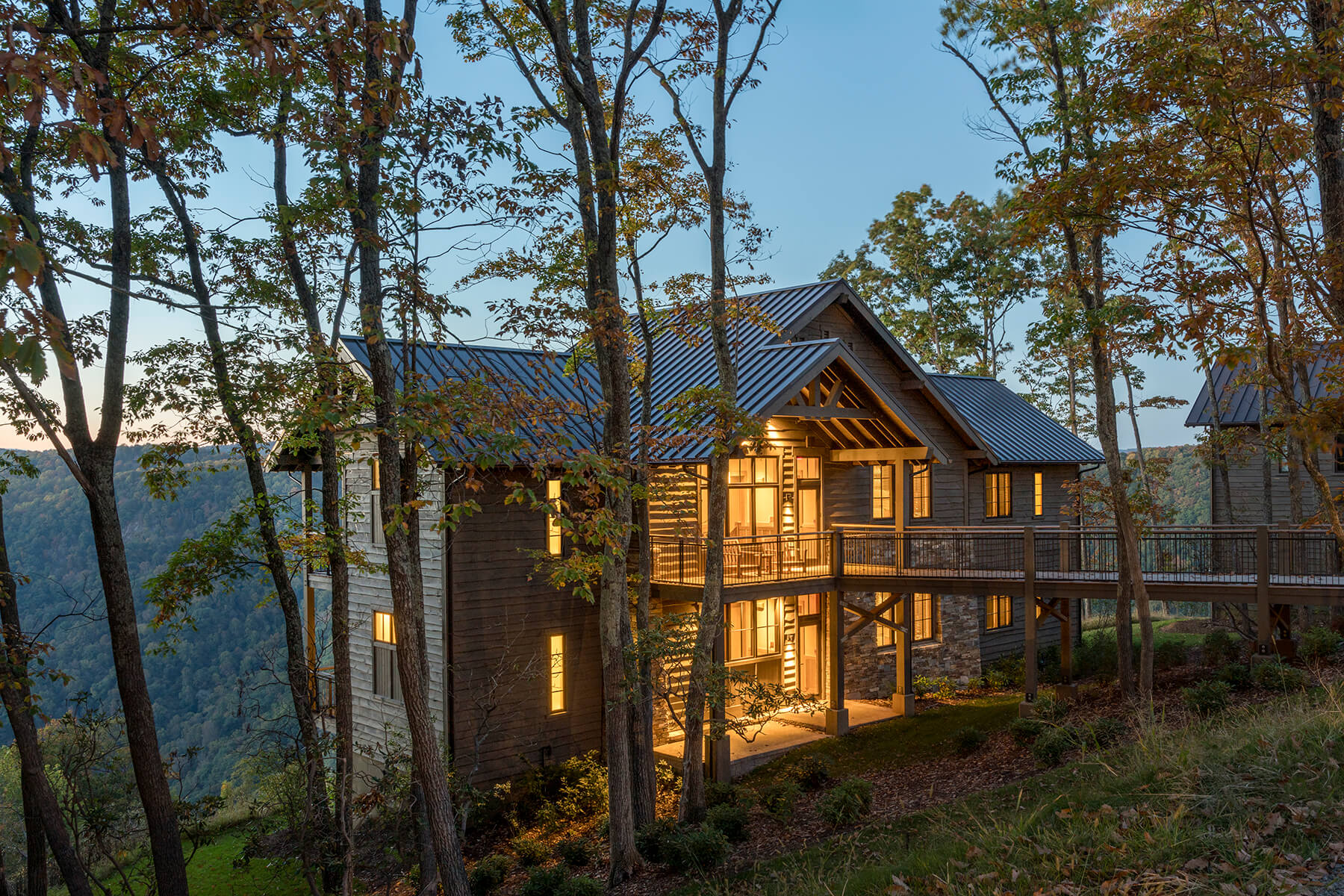 Primland Resort architectural renovation project