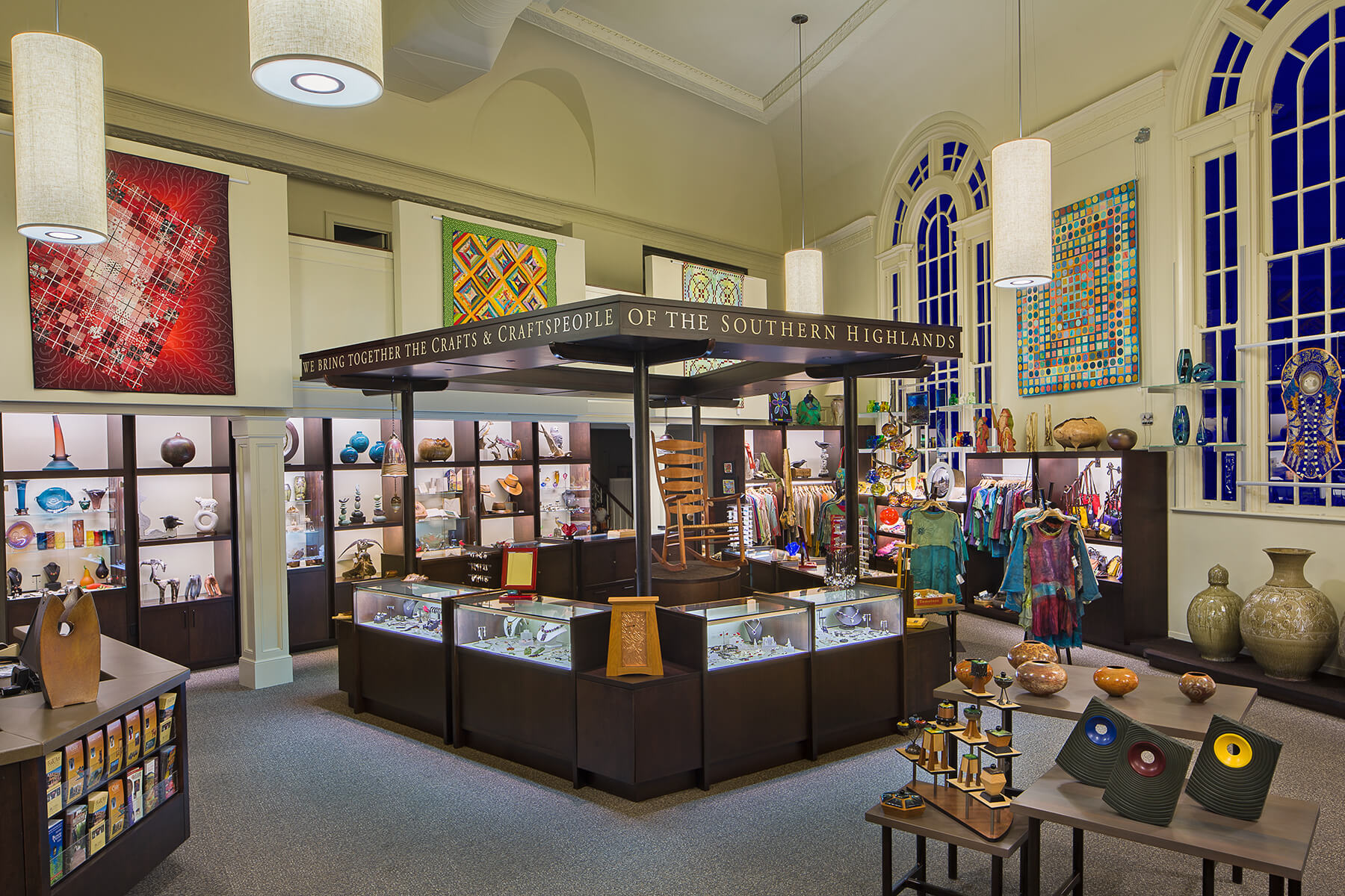 Southern Highland Craft Guild, an architectural renovation project in Biltmore Village