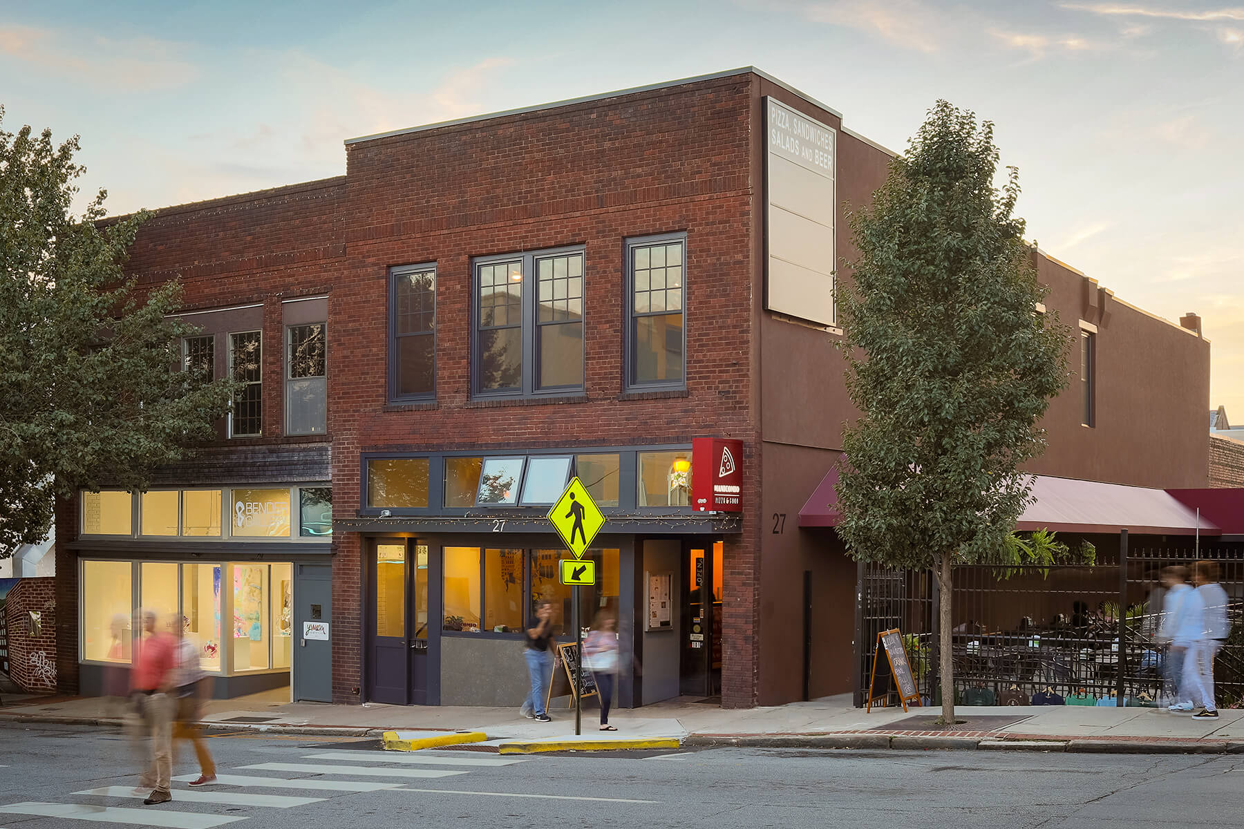 27 Biltmore restaurant in WNC architectural renovation project