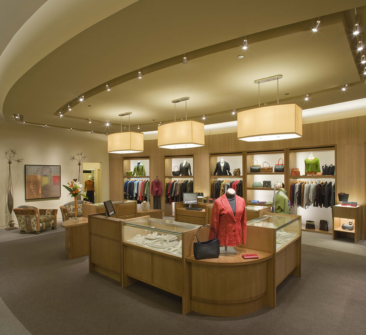 Bellagio Everyday retail store architectural renovation project