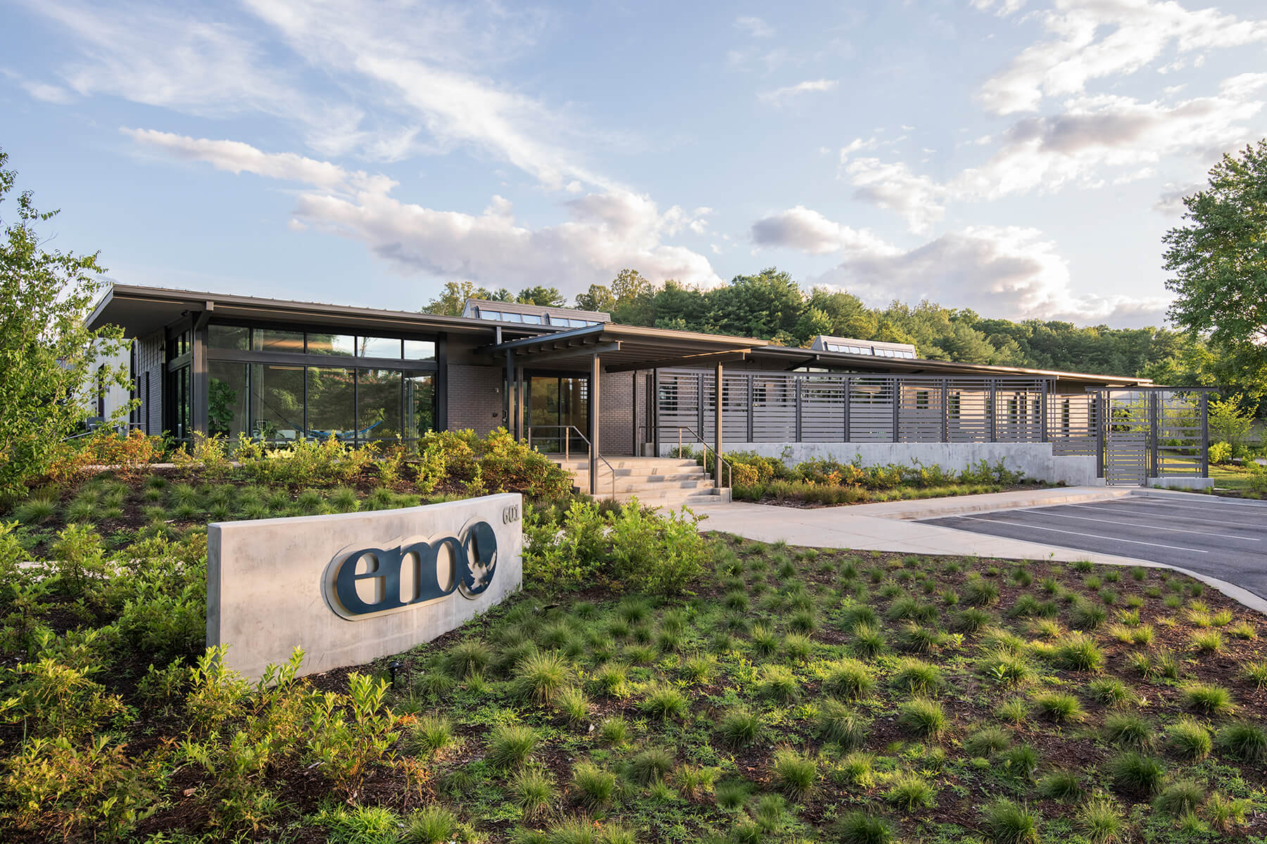 Eagles Nest Outfitters (ENO) headquarters architectural renovation project in WNC