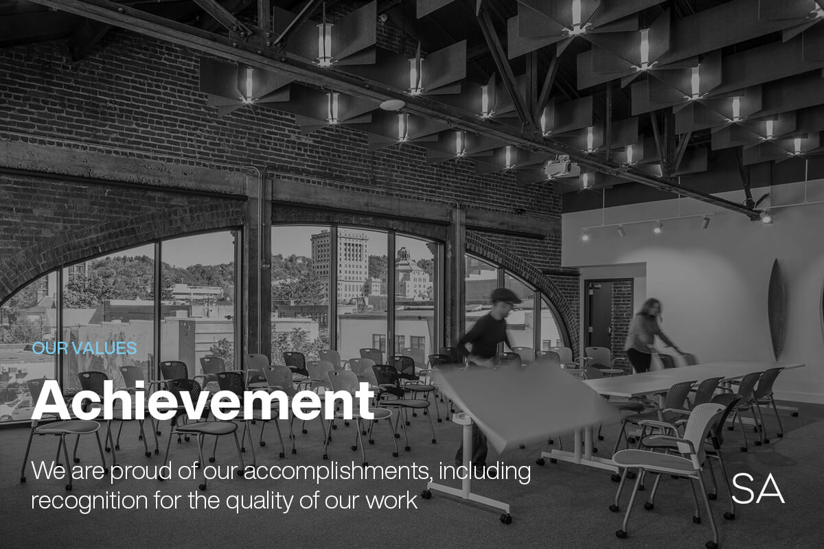Samsel Architects Values Blog Achievement